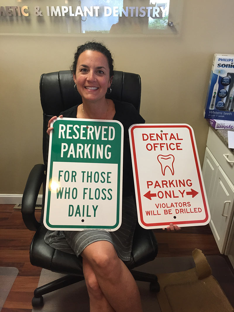Dental Office Parking Only